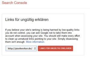 Google-Ranking-Google-disavow-tool