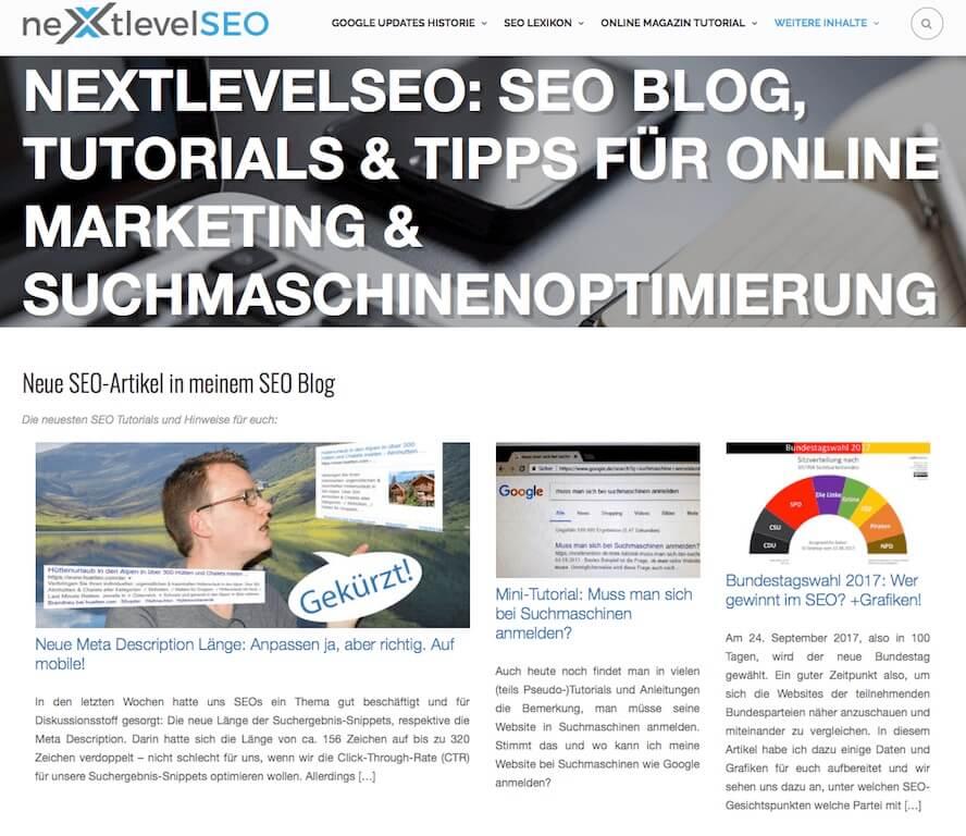 NextlevelSeo Blog