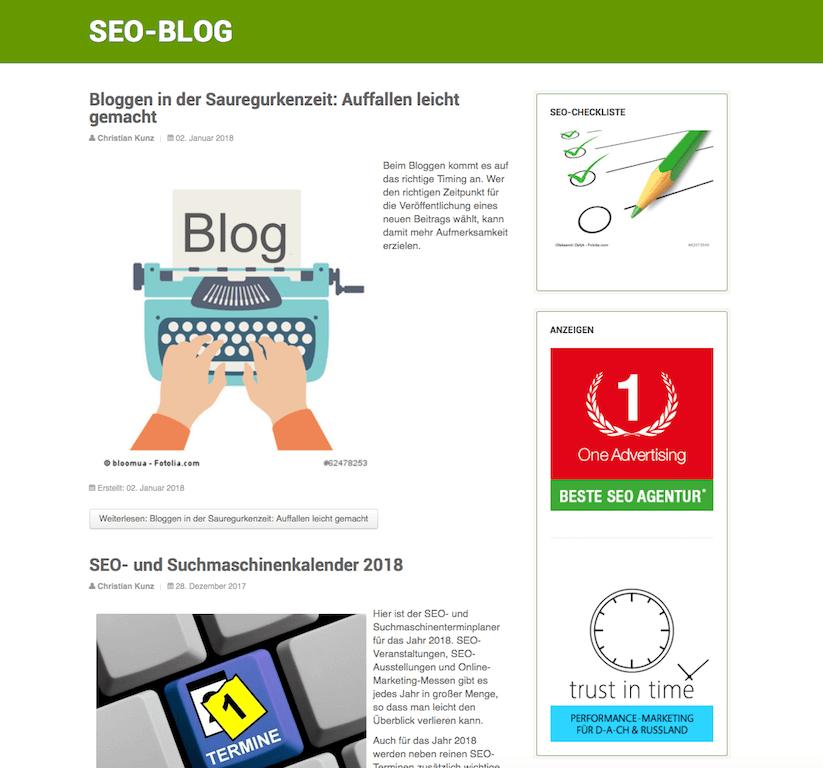 SEO Südwest Blog