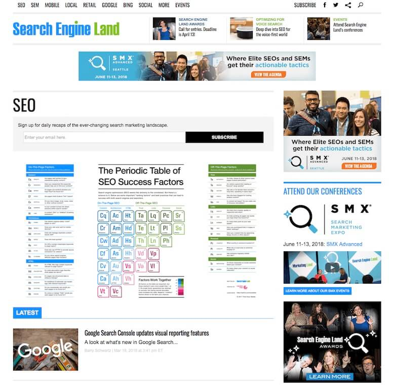Search Engine Land Blog