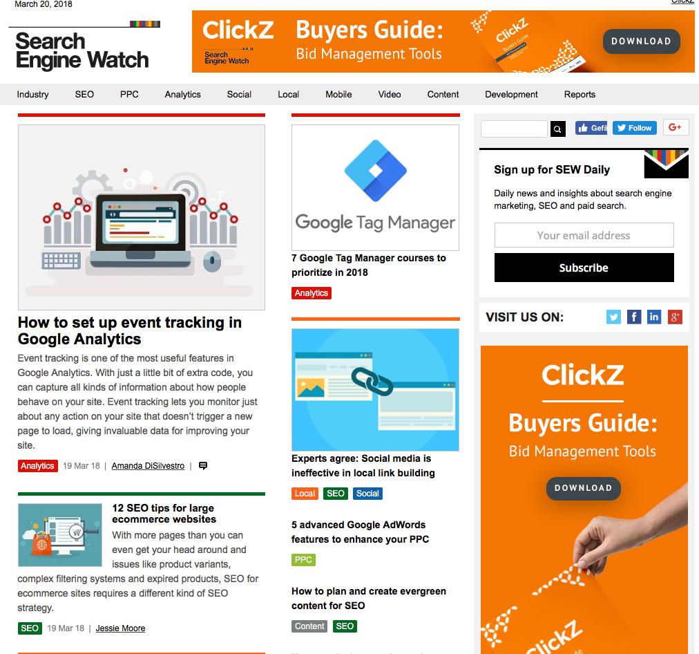 Search Engine Watch Blog