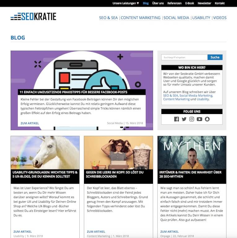 Seokratie Blog