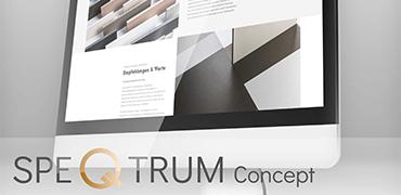 Berthold Leu, SPEQTRUM Concept - Markenaufbau, Webdesign und Corporate Identity