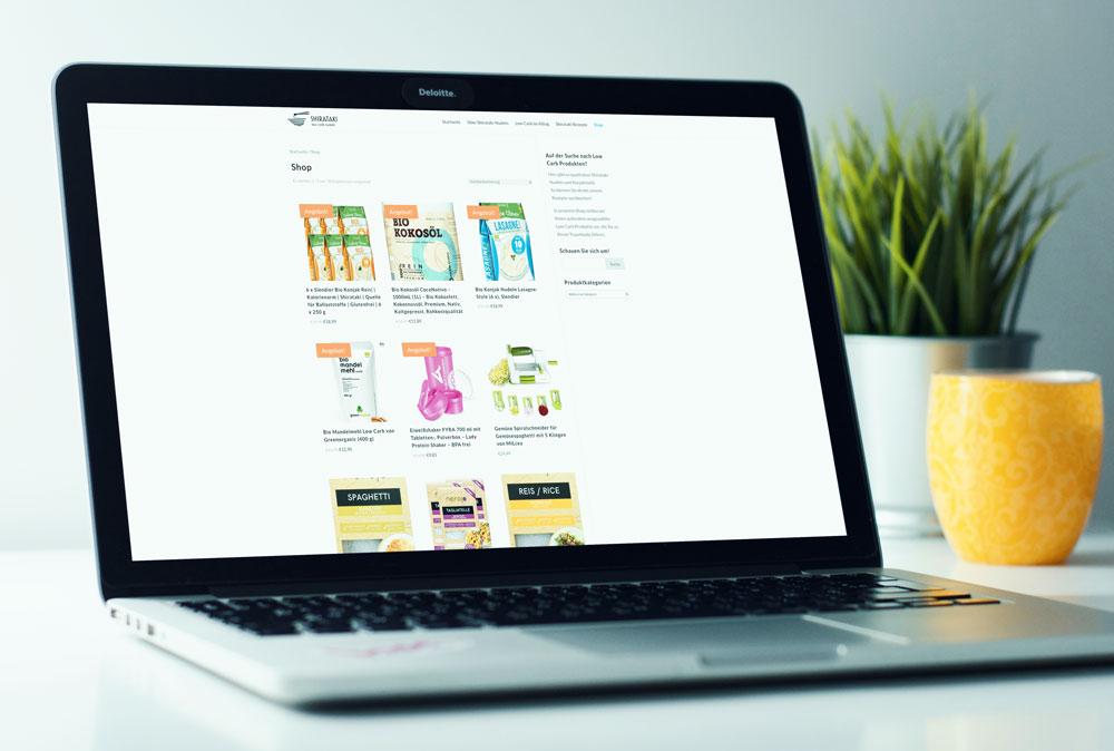 Über den integrierten Shop können die Nutzer direkt für sie interessante Produkte kaufen.